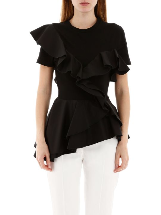 Alexander McQueen Ruffled Top