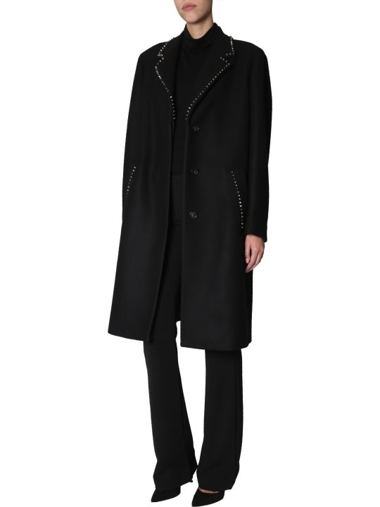 Versace Collection Studded Coat