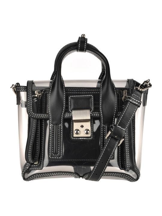 3.1 Phillip Lim Phillip Lim Transparent Pashli Mini Tote