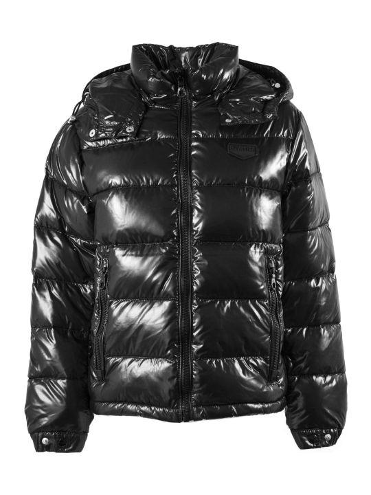 Duvetica Jabbah Black Nylon Down Jacket