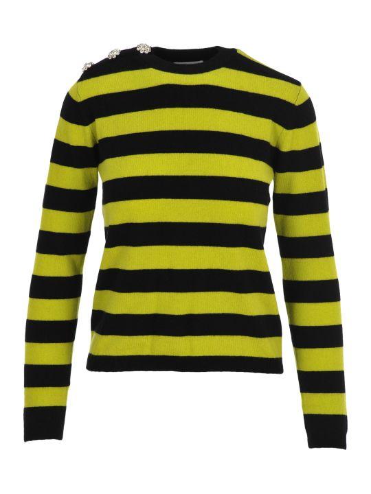 Ganni Stripe Cashmere Jumper