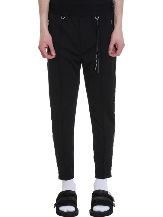 MASTERMIND WORLD Black Polyester Pants