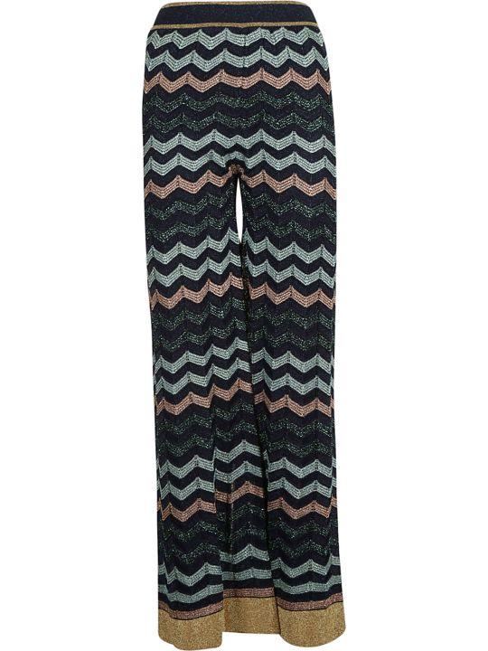 M Missoni Wave Print Trousers