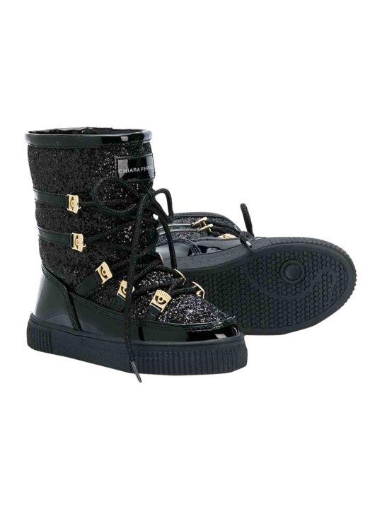 Chiara Ferragni Boots With Glitter