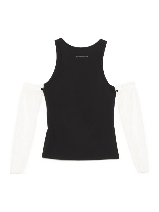 MM6 Maison Margiela 'raimbow' Top
