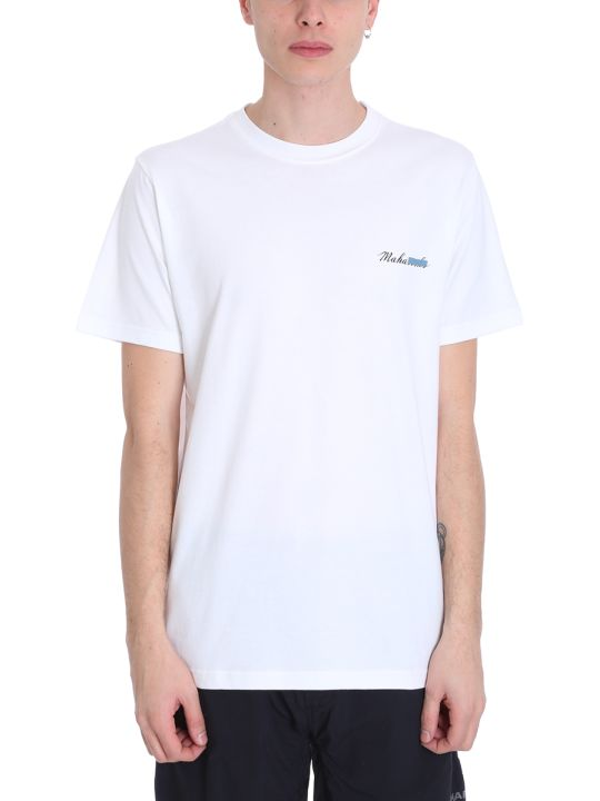 Maharishi White Cotton T-shirt