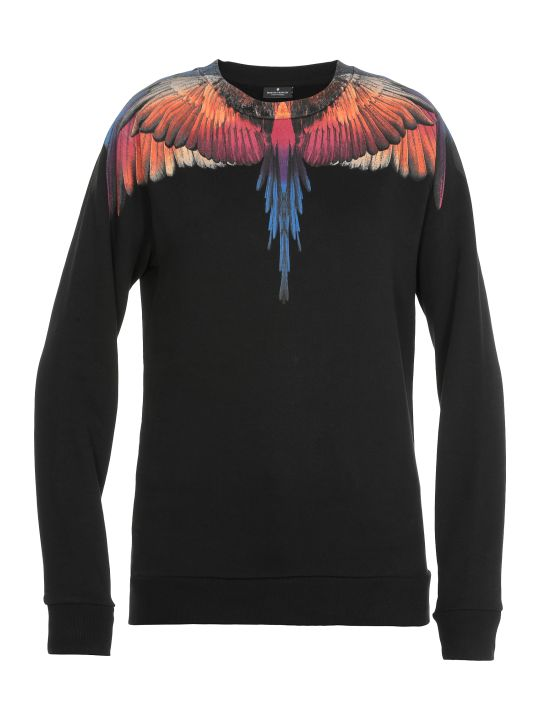 Marcelo Burlon Pink Wings Sweatshirt