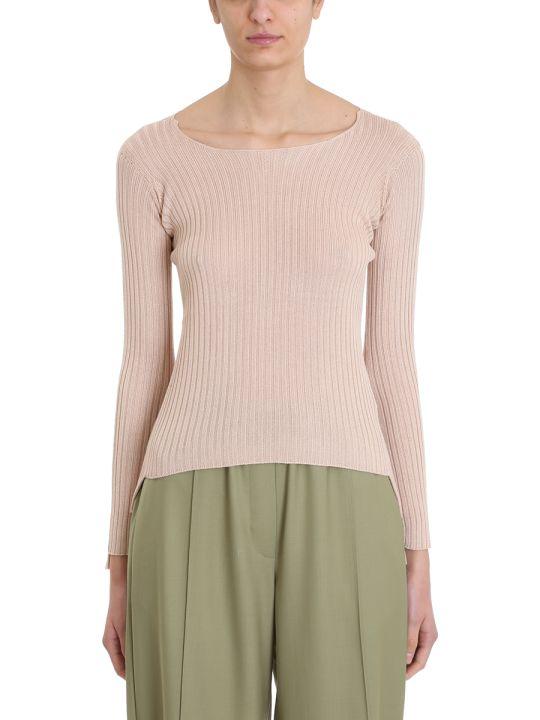 Maison Flaneur Knit Powder Silk Sweater