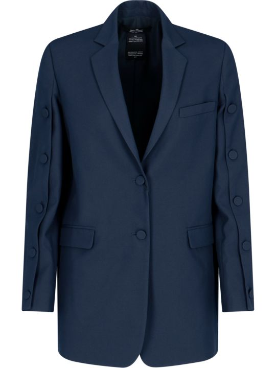 Rokh Single-breasted Button Detail Blazer