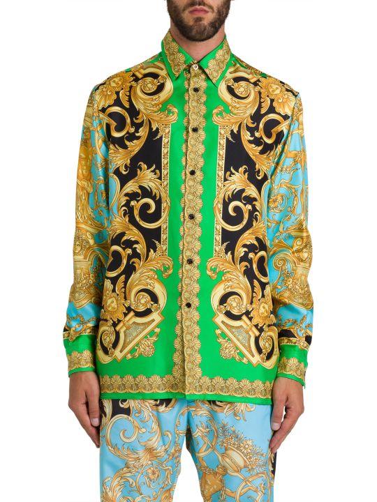 Versace Barocco Silk Shirt