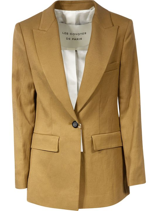 Les Coyotes De Paris Single Button Blazer