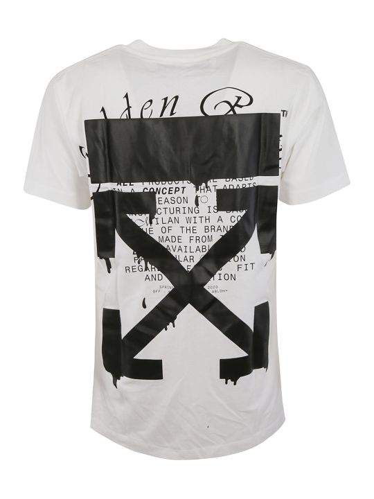 Off-White Dripping Arrows T-shirt