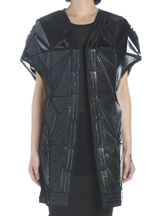 Rick Owens 'whisper Short Mantle' Vest