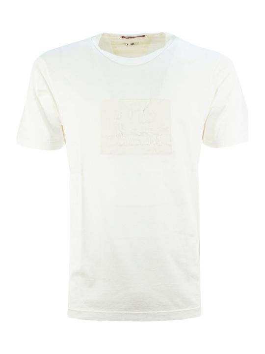 C.P. Company White Cotton T-shirt