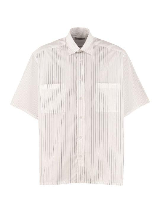 Givenchy Short Sleeves Cotton Shirt