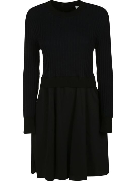 Kenzo 2 In 1 Mixed Knitted Dress