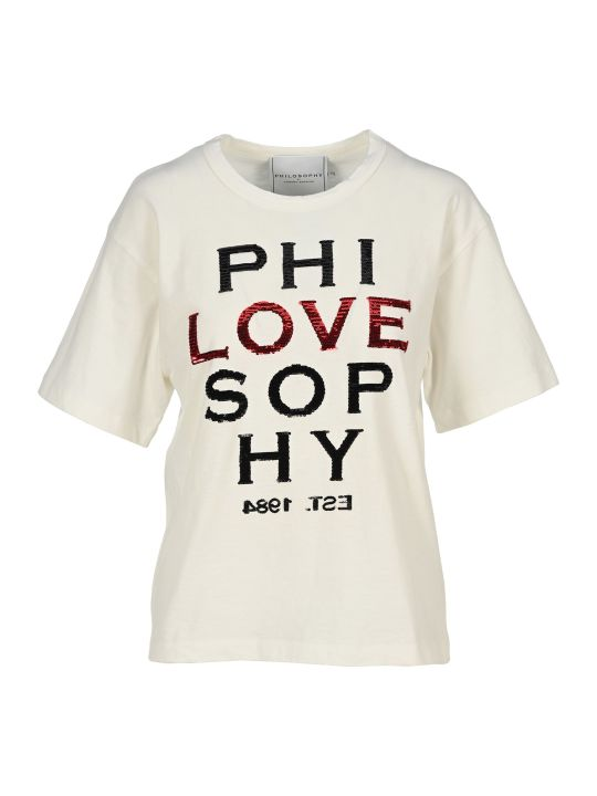 Philosophy di Lorenzo Serafini Philosophy Love T-shirt