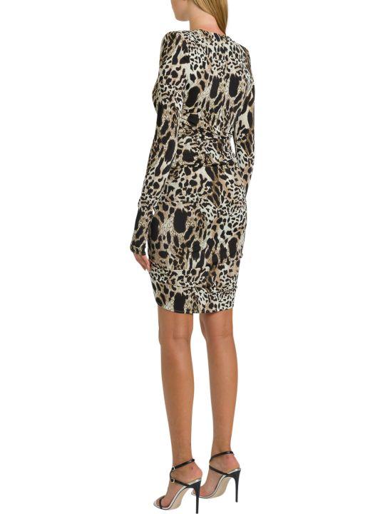Alexandre Vauthier Animalier Short Dress