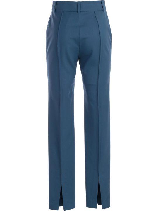 SSHEENA Pants Skinny Gabardine Wool