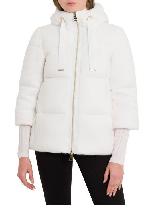 Herno Woolfur Down-jacket