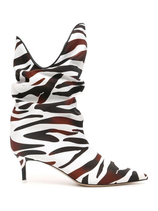 The Attico Zebra-printed Boots