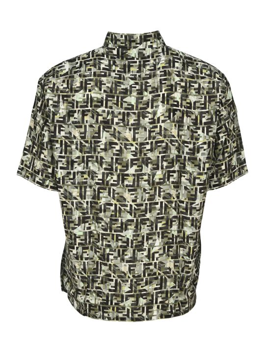 Fendi Ff Camouflage Shirt