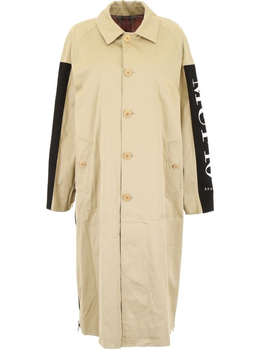 MUF10 Reversible Trench Coat