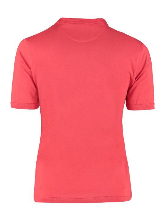 MCM Logo Print Cotton T-shirt