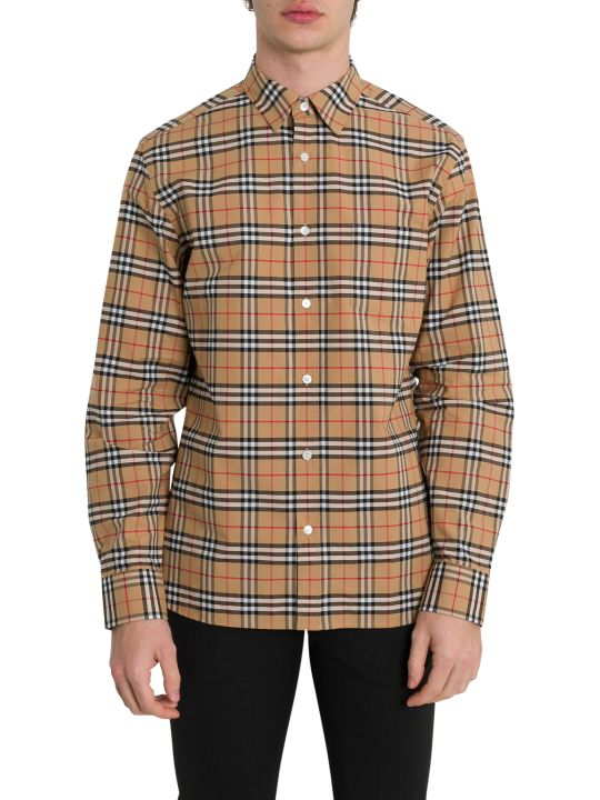 Burberry George Heritage Check Shirt