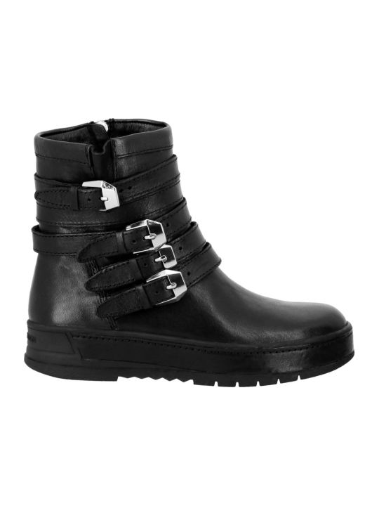 Crime london Flat Booties Shoes Women Crime London