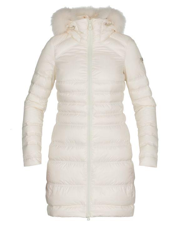 Peuterey Davis Mq Fur Quilted Coat