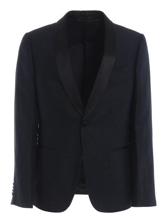 Ermenegildo Zegna One Button Blazer