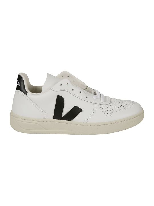Veja Side V Logo Perforated Sneakers