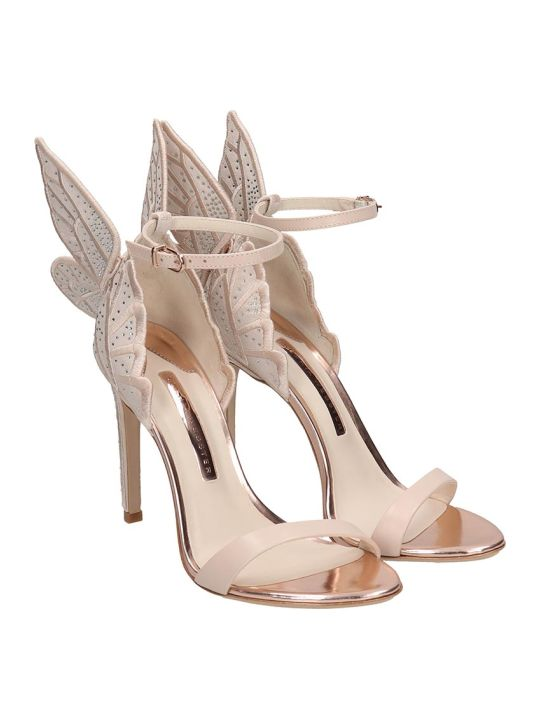 Sophia Webster Chiara Sandals In Powder Leather
