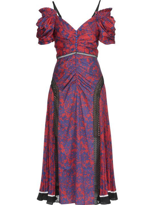 self-portrait Offshoulder Floral Dress
