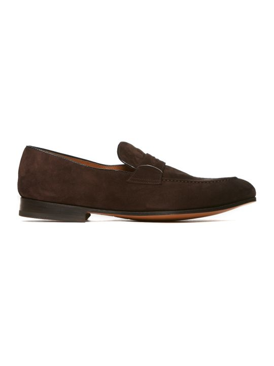 Doucal's Branded Loafers