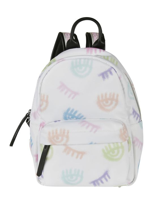 Chiara Ferragni Small Logomania Spray Backpack