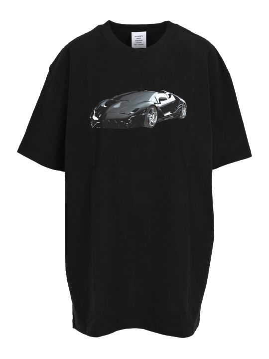 VETEMENTS Supercar Tshirt