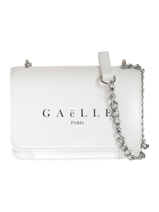 Gaelle Bonheur Logo Print Shoulder Bag