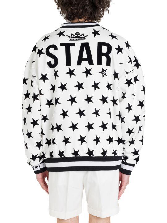 Dolce & Gabbana Stars Printed Sweatshirt
