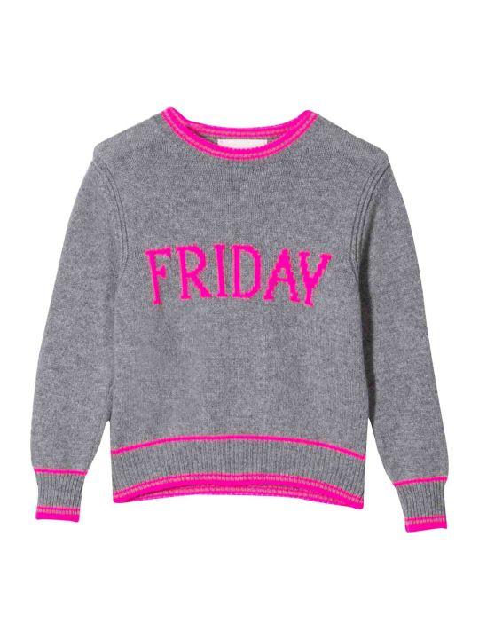 Alberta Ferretti Alberta Ferretti Gray Sweater Kids Teen