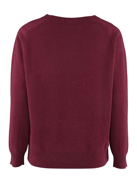 Max Mara Studio Alacre Wool And Cashmere Sweater