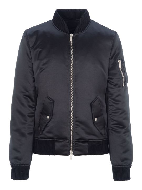 Ben Taverniti Unravel Project Unravel Sateen Openside Tuxedo Bomber Jacket