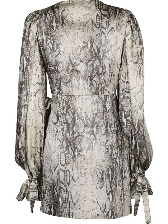 WANDERING Print Tiered Dress