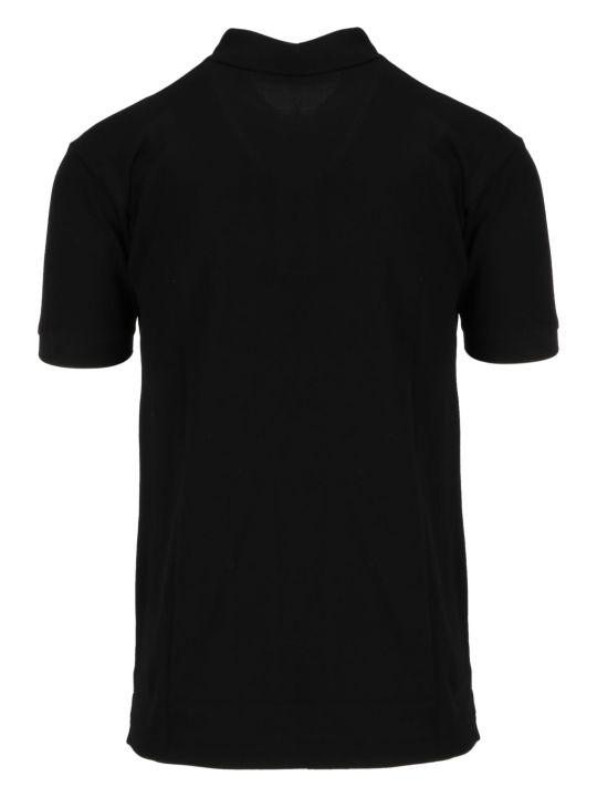 Comme des Garçons Play Play Logo Polo Shirt