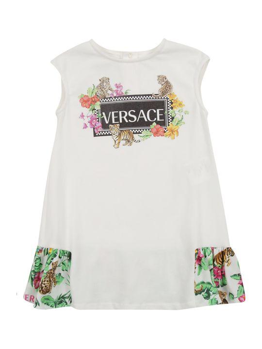 Young Versace Young Versace Jungle Print Dress