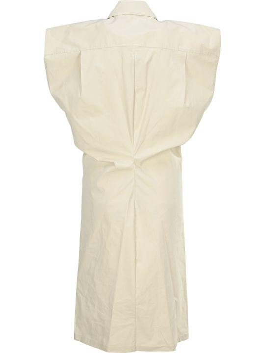 Bottega Veneta Technical Toile Shirt Dress