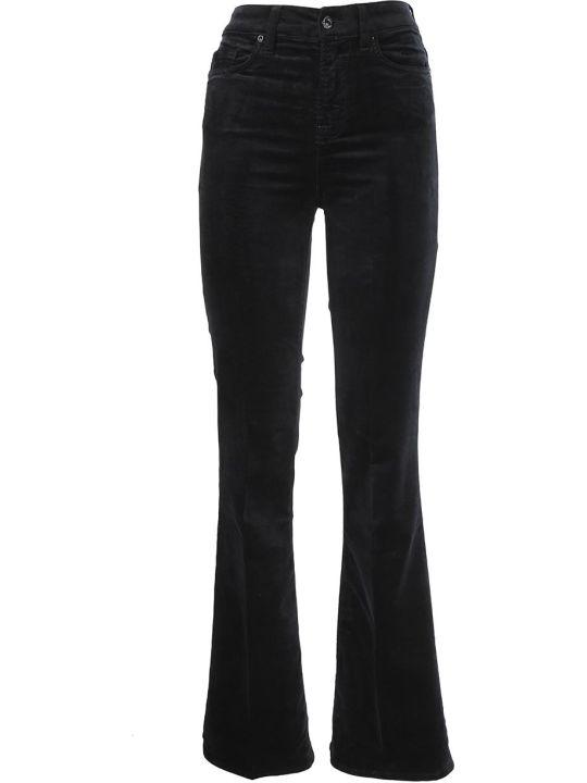Seven London Seven black velvet Trousers