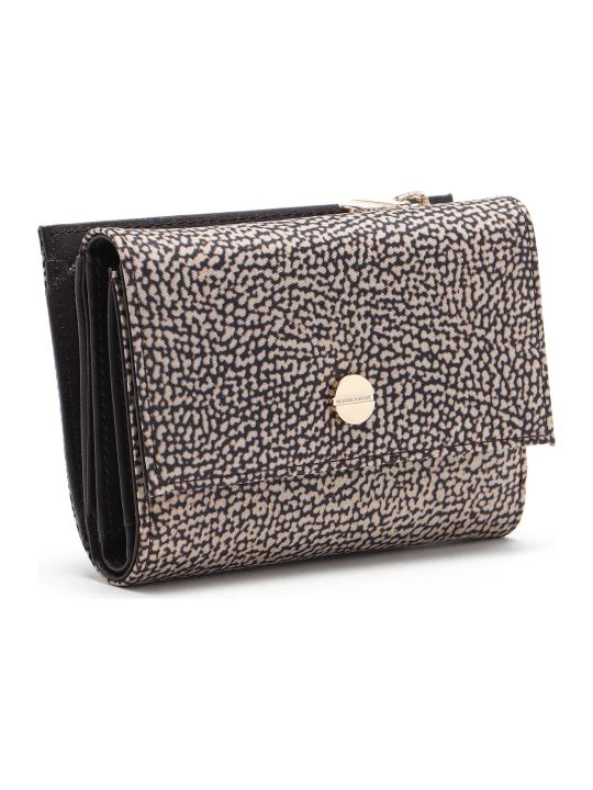 Borbonese Medium Wallet W/zip
