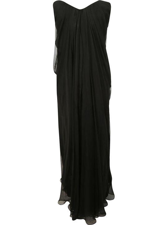 Alexander McQueen Strapless Bandeau Dress